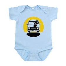 Minivan in Sunset 1 Infant Bodysuit