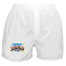 Shreveport Louisiana Greetings Boxer Shorts