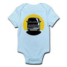 Minivan in Sunset 2 Infant Bodysuit