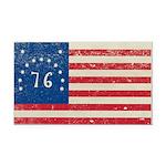 Bennington 76 Flag Rectangle Car Magnet