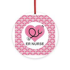 ER Nurse Gift Ornament Ornament (Round)