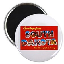South Dakota Greetings Magnet
