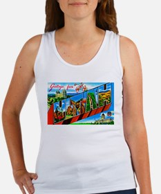 Utah Greetings Women's Tank Top