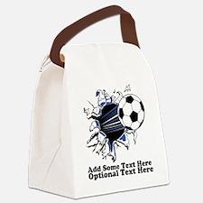 Unique Sports Canvas Lunch Bag