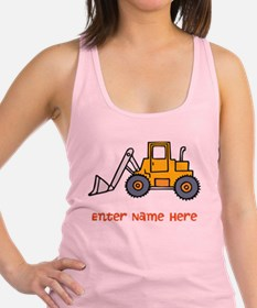 Personalized Loader Racerback Tank Top