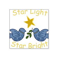 "Star Light Square Sticker 3"" x 3"""