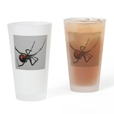 Black Widow Spider Drinking Glass