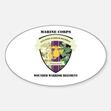 Marine Corps Wounded Warrior Regiment with Text St