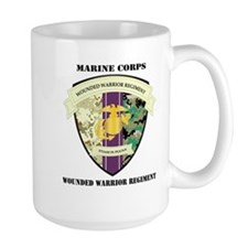 Marine Corps Wounded Warrior Regiment with Text La
