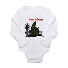 Halloween Owl Long Sleeve Infant Bodysuit