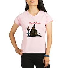 Halloween Owl Performance Dry T-Shirt