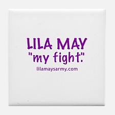 """My Fight"" Tile Coaster"