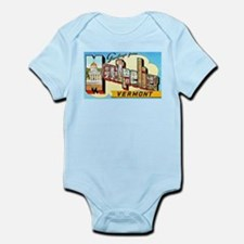 Montpelier Vermont Greetings Infant Bodysuit