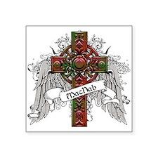 """MacNab Tartan Cross Square Sticker 3"""" x 3"""""""