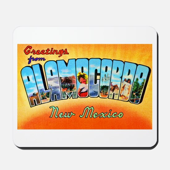 Alamogordo New Mexico Greetings Mousepad