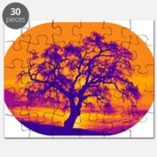 Complementary Sunset Puzzle