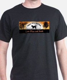 Live Free and Bark T-Shirt