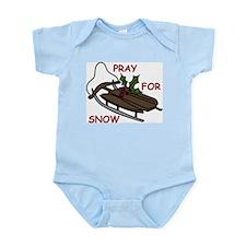 Pray For Snow Infant Bodysuit