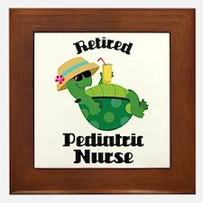 Retired Pediatric Gift Framed Tile