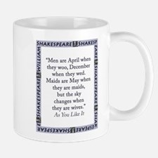 Men Are April When They Woo Mug