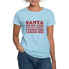 Santa Oh My God T-Shirt