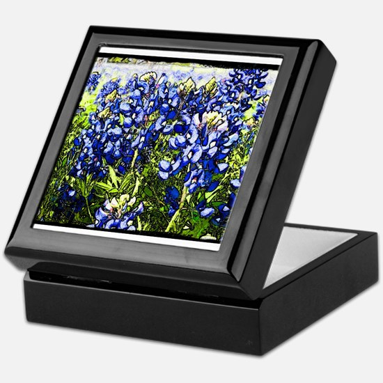 Texas Bluebonnets Keepsake Box