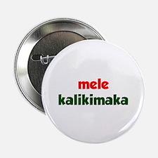"Mele Kalikimaka 2.25"" Button (10 pack)"