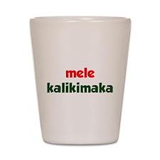 Mele Kalikimaka Shot Glass