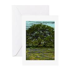 Texas Fields Greeting Card
