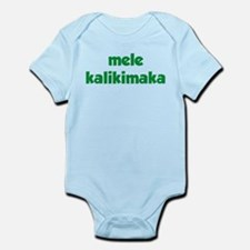 Mele Kalikimaka Infant Bodysuit
