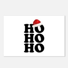 Ho Ho Ho Postcards (Package of 8)