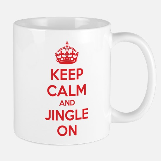 Keep calm and jingle on Mug