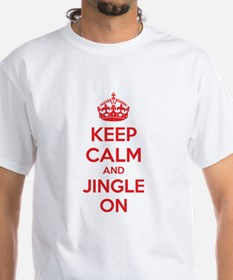 Keep calm and jingle on Shirt