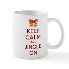Keep calm and jingle on Mug