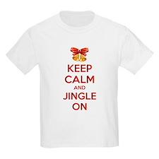 Keep calm and jingle on T-Shirt