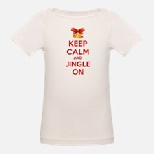 Keep calm and jingle on Tee
