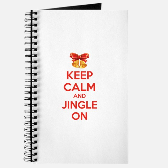 Keep calm and jingle on Journal