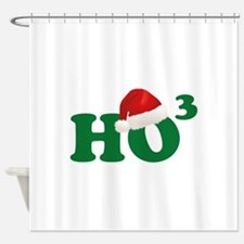 Ho Ho Ho Shower Curtain