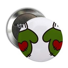 "Christmas Mittens 2.25"" Button"