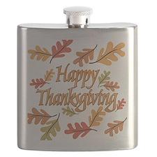 Happy Thanksgiving Flask
