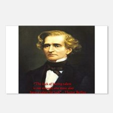 Hector Berlioz Postcards (Package of 8)