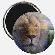 lionlamb.jpg Magnet