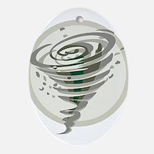 Tornado Ornament (Oval)