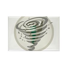 Tornado Rectangle Magnet