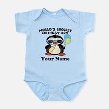 Coolest Birthday Boy Infant Bodysuit