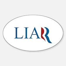 Liar Sticker (Oval)