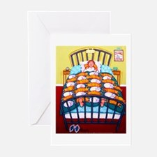 Cat Quilt Greeting Cards (Pk of 10)