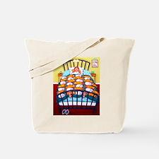 Cat Quilt Tote Bag