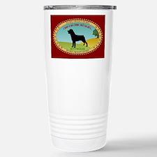 Rottweiler Stainless Steel Travel Mug