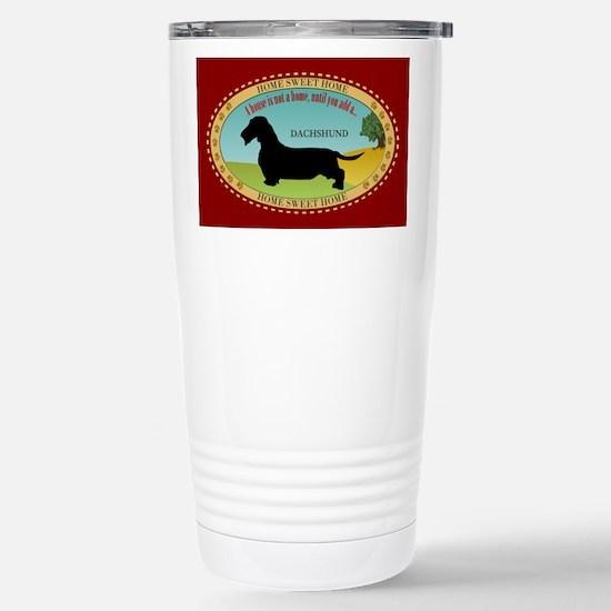Dachshund [wire-haired] Stainless Steel Travel Mug